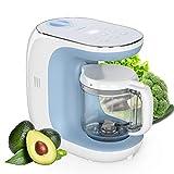 Robot de cocina Eccomum Cocina al Vapor Procesador de Alimentos para Bebés Multifunción, vaporera...