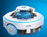 AquaJack Robot limpiafondos para Piscina elevada electrico con bateria y sin Cable AJ-600