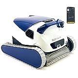 DOLPHIN Robot Limpiafondos de Piscina Automático - Cubre hasta 12 m - Limpia Fondo, Paredes y...