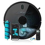 Cecotec Robot aspirador y fregasuelos Conga 5490, Tecnología láser, Friega, Aspira y Barre a la...