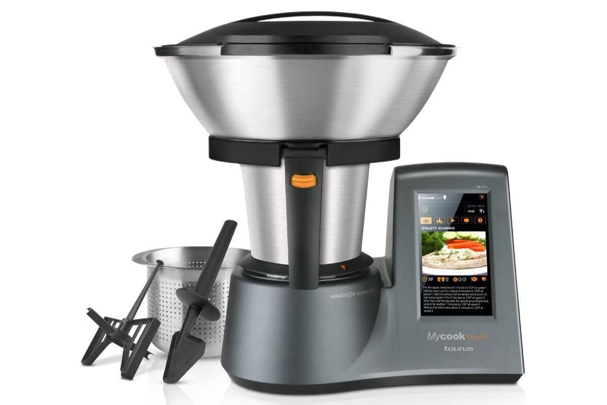 Taurus MyCook Touch: El Robot de Cocina más avanzado