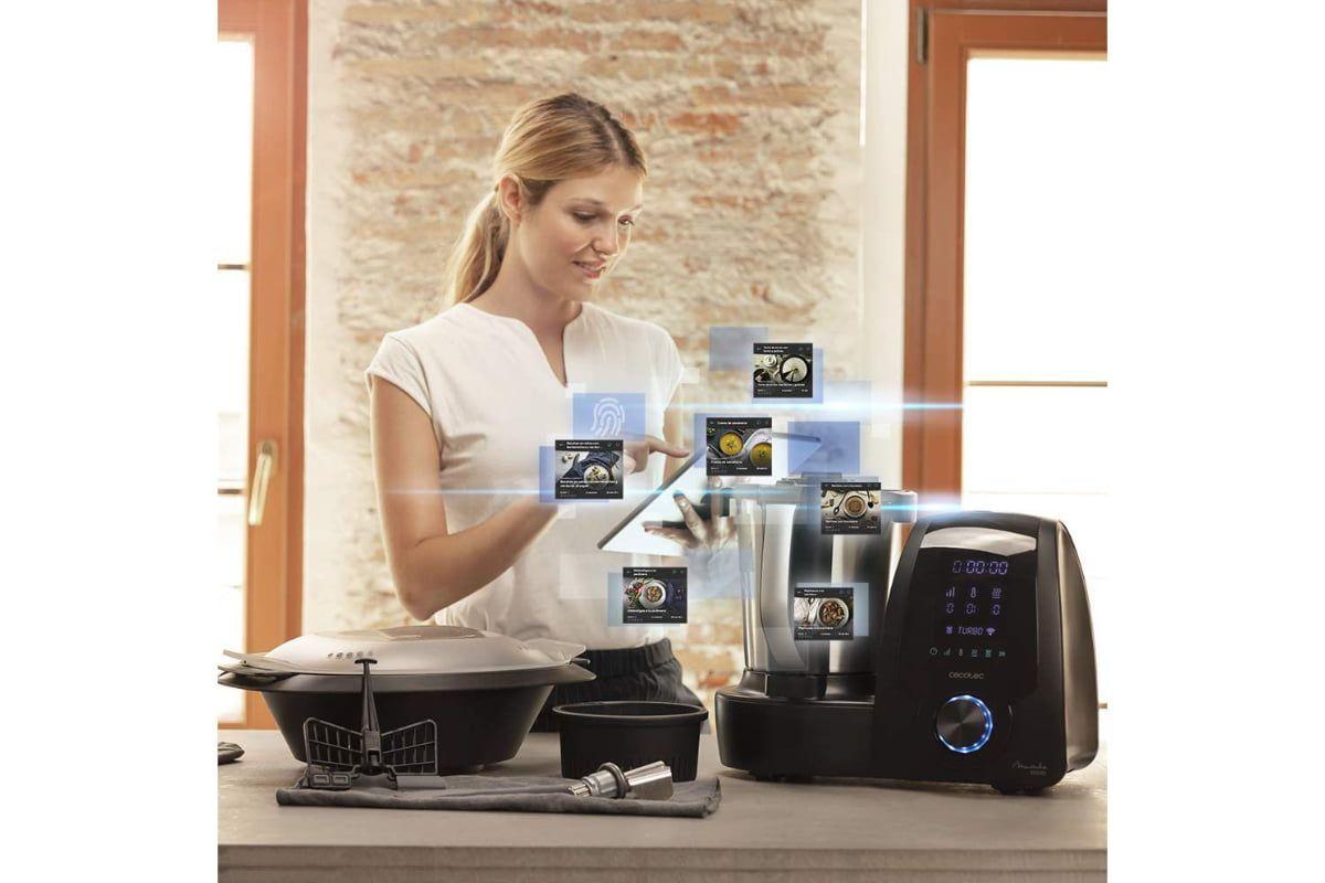 robot de cocina cecotec mambo