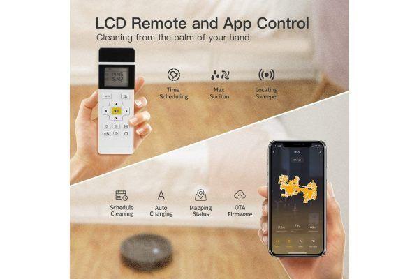 robot aspiradora lefant m520 aplicacion app