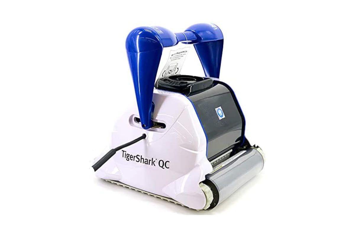 robot limpiafondos hayward tiger shark qc