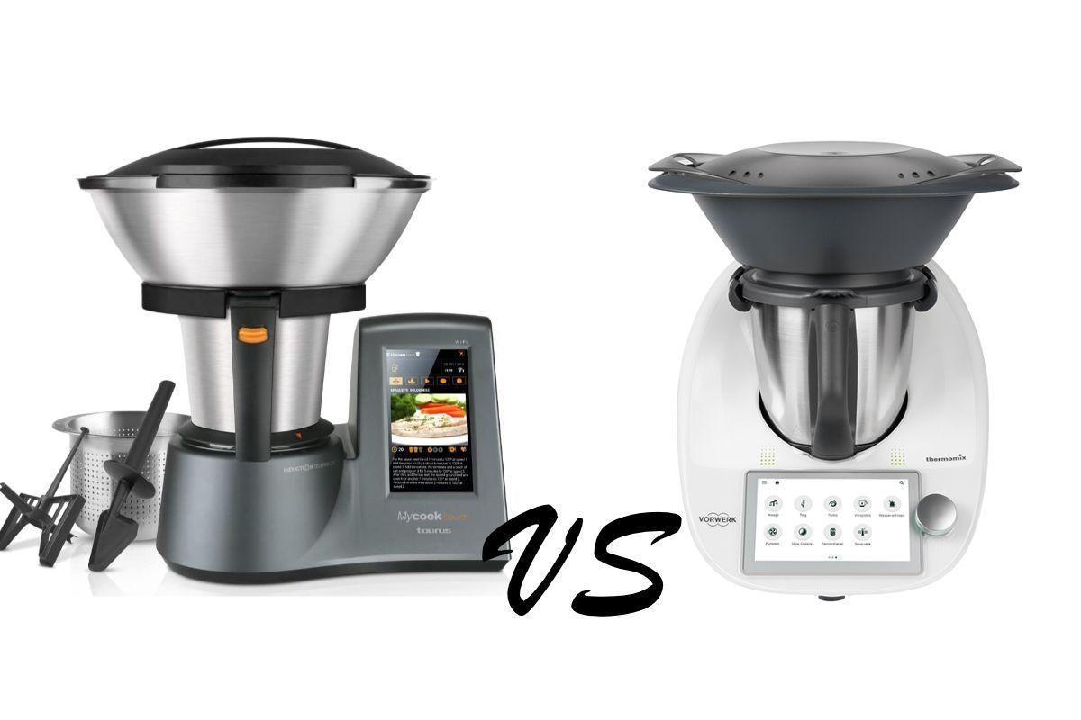 Taurus MyCook Touch vs Thermomix TM6